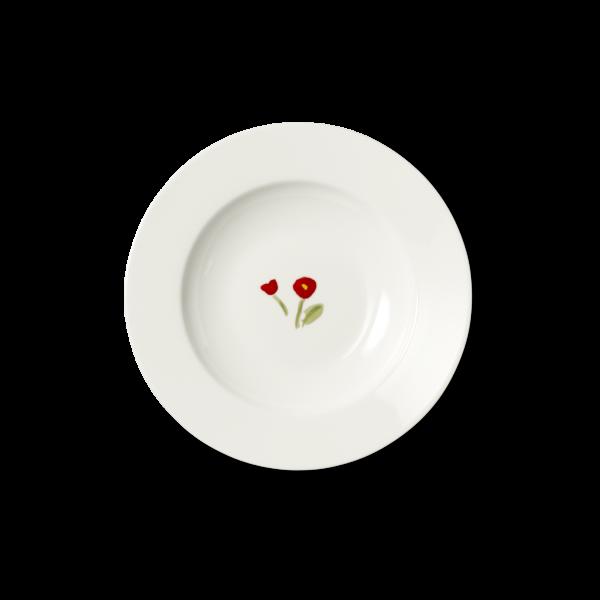 Suppenteller Rot (23cm)