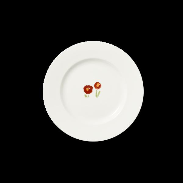 Dessertteller Rot (21cm)