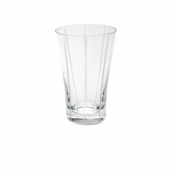 Glas 0,3 l vertikalschliff klar