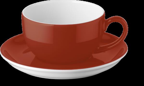 2-tlg. Set Espressotasse 0,10l paprika