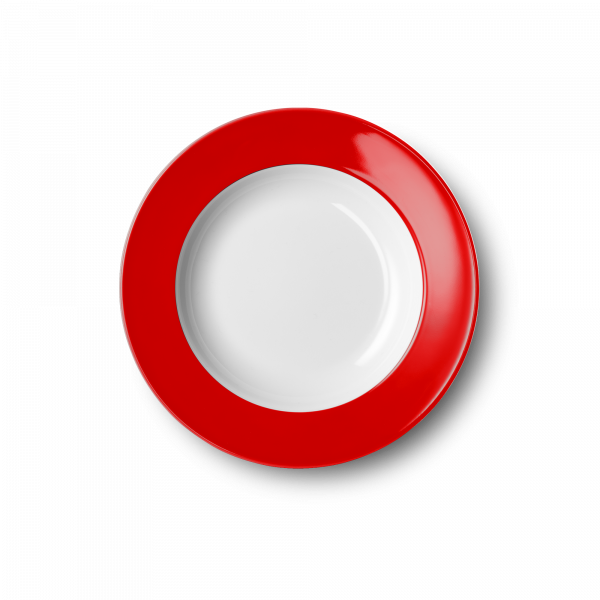 Suppenteller Signalrot (23cm)