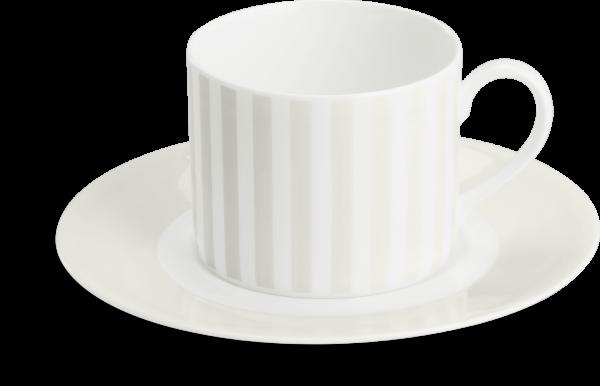 Set Kaffeetasse Hellgrau (0,25l)