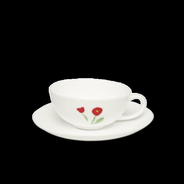 Set Teetasse Rot (0,2l)