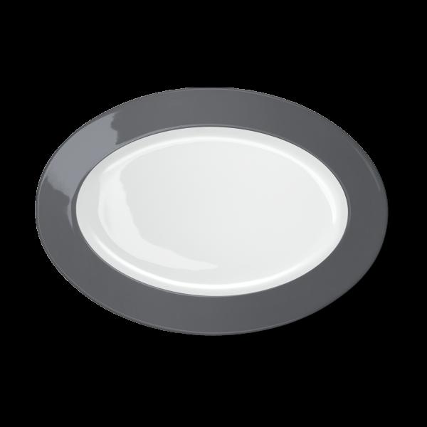Oval Platter Anthracite (33cm)