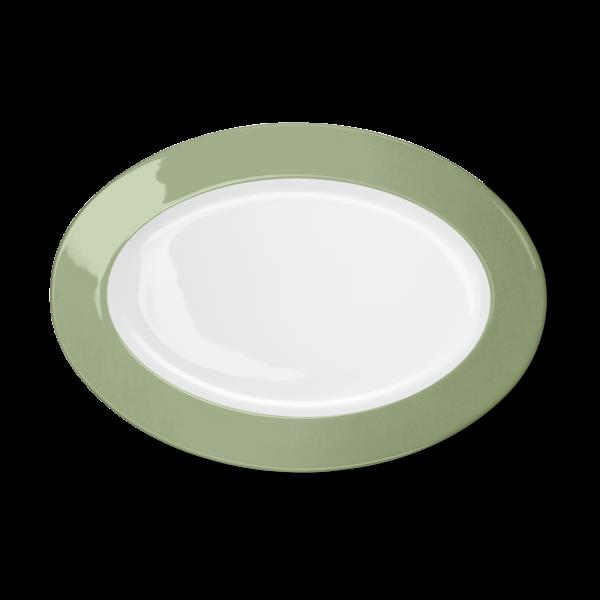 Oval Platter Khaki (33cm)