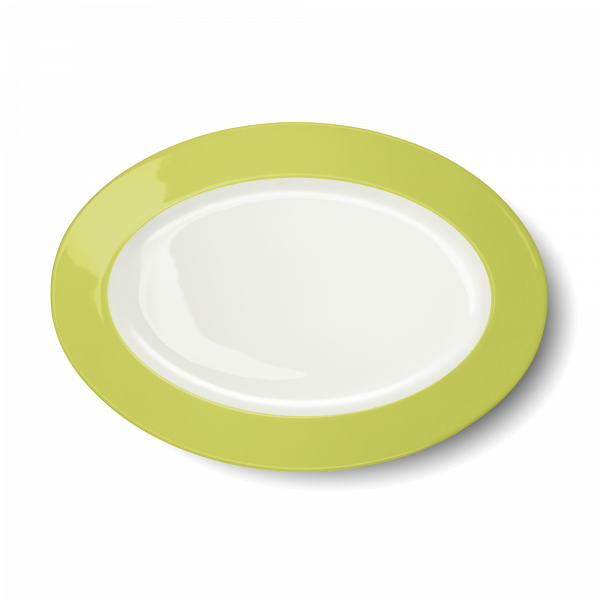 Oval Platter Lime (33cm)