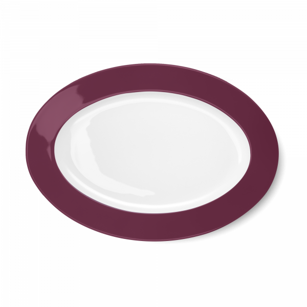 Oval Platter Bordeaux (33cm)
