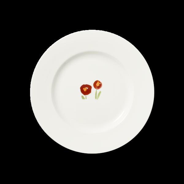 Dinner Plate Red poppy (26,5cm)
