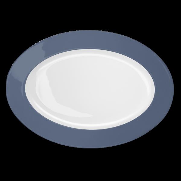 Oval Platter Indigo (36cm)