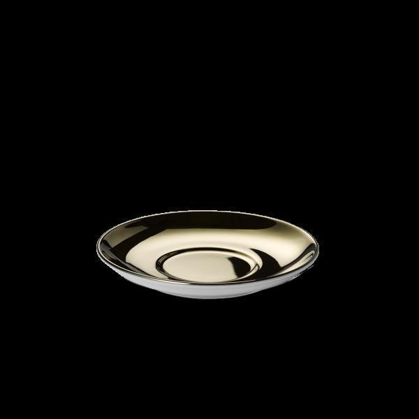 Kaffee Untertasse Gold (14,5cm)