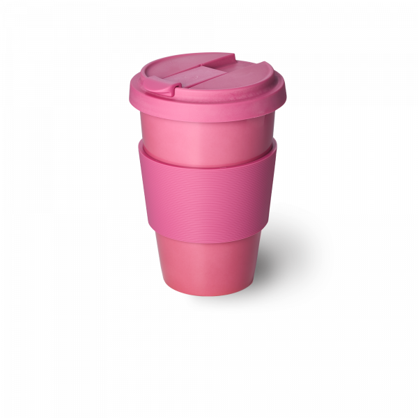 Solid Color Coffee-To-Go Cup Pink (0,35l)