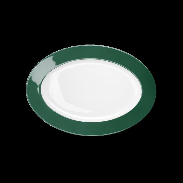 Oval Platter Dark Green (29cm)