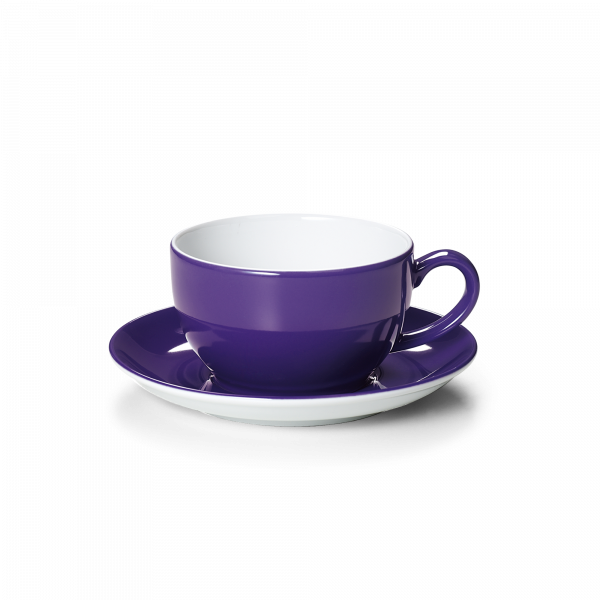 Set Cappuccinotasse Violett (0,3l)