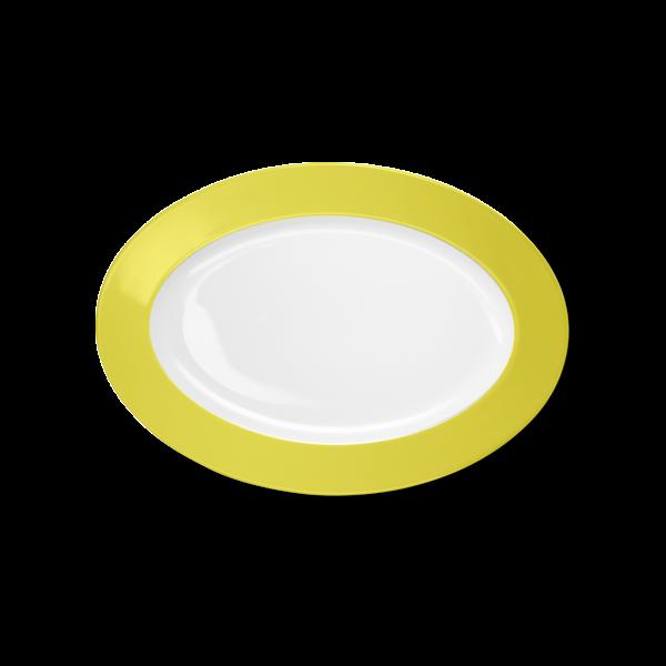 Oval Platter Lemon (29cm)