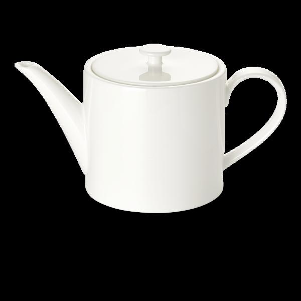 Teekanne ohne deckel 1,3 l zyl weiss