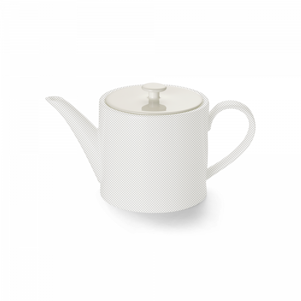 Lid of teapot 0,50 l cylindrical white