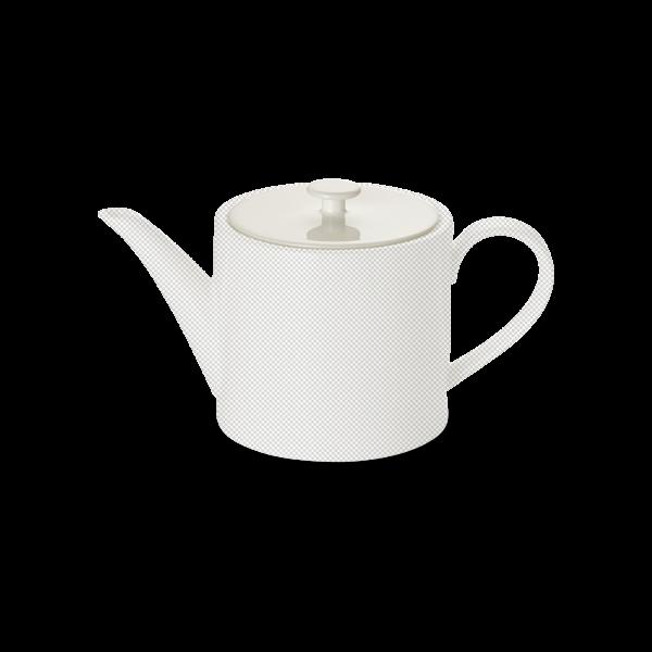 Deckel Teekanne 0,50 l zylindrisch weiss