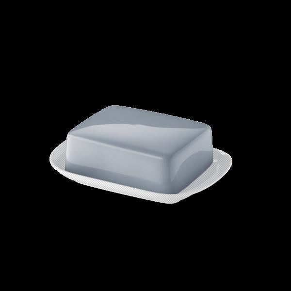 Butterdose Oberteil Grau