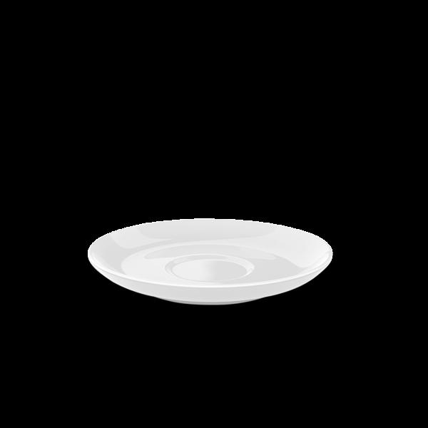 Tee Untertasse Weiß (15cm)