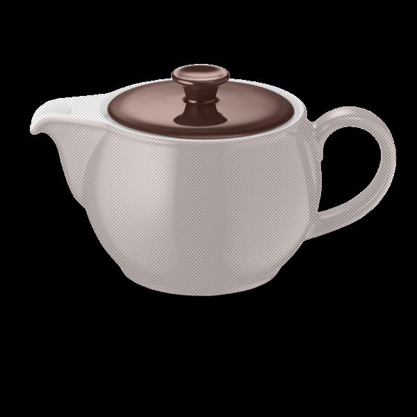 Deckel für Teekanne Kaffeebraun (1,1l)