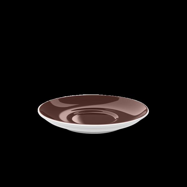 Kaffee Untertasse Kaffeebraun (14,5cm)