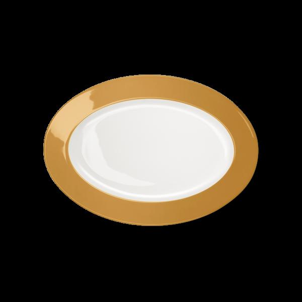 Ovale Platte Bernstein (29cm)