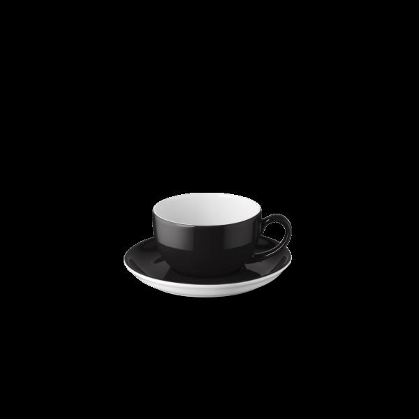 Set Espressotasse Schwarz (0,1l)