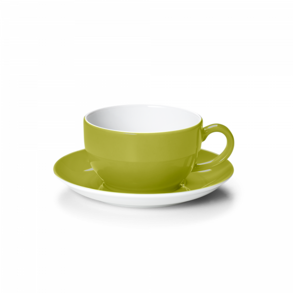 Set Cappuccinotasse Oliv (0,3l)