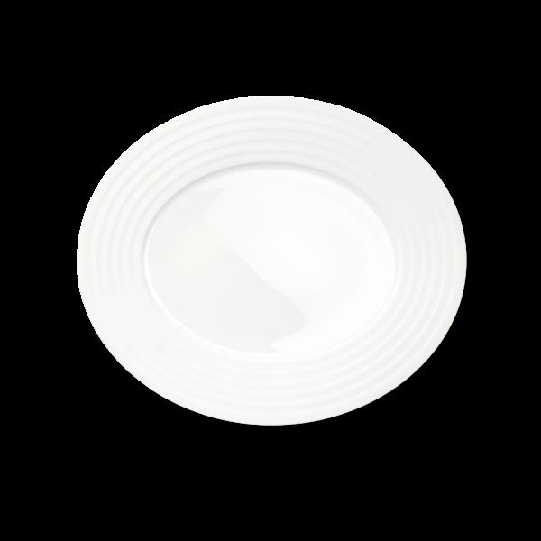 Ovale Platte (Relief) (34cm)