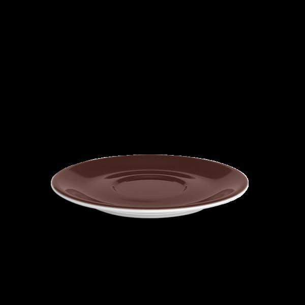 Jumbo Untertasse Kaffeebraun (19,5cm)