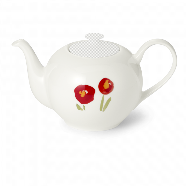 Teekanne unterteil 1,30 l mohn