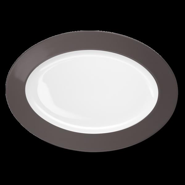 Ovale Platte Umbra (36cm)