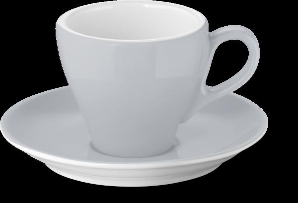 Set Espressotasse Lichtgrau (0,09l)