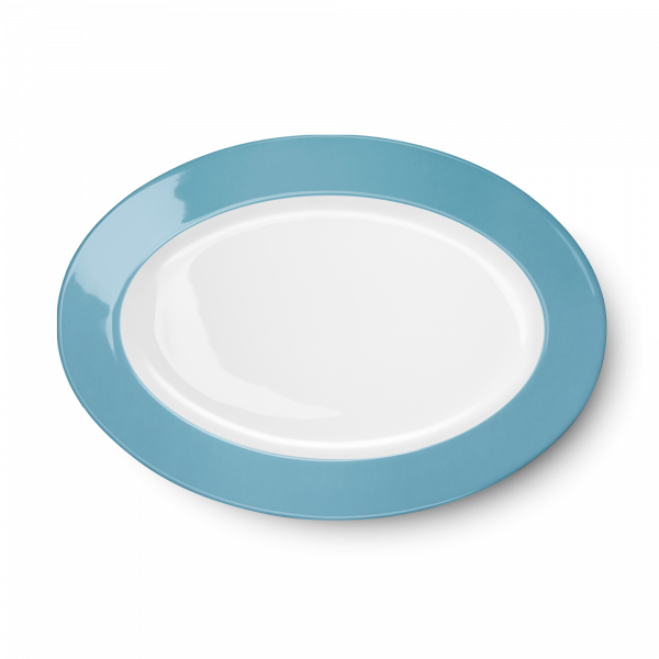 Oval Platter Malibu Turquose (33cm)
