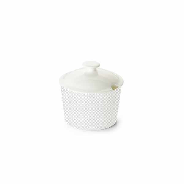 Lid of sugar bowl conical 0,24 l white