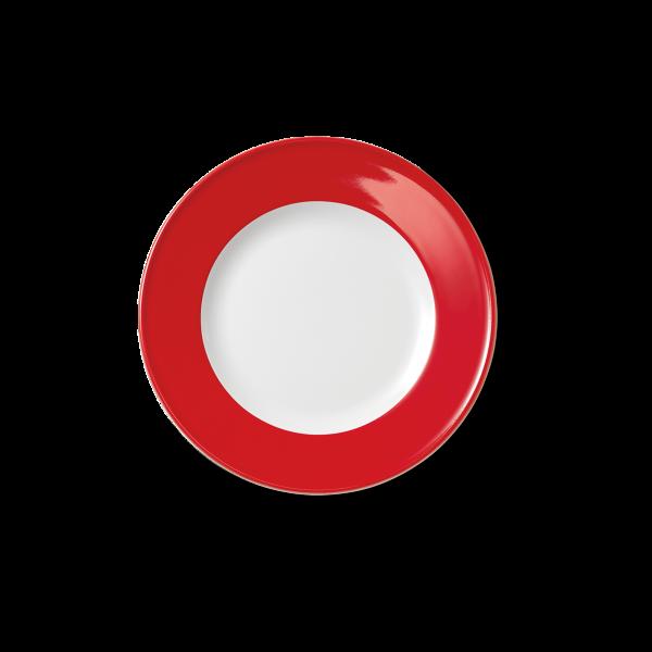 Dessertteller Signalrot (19cm)