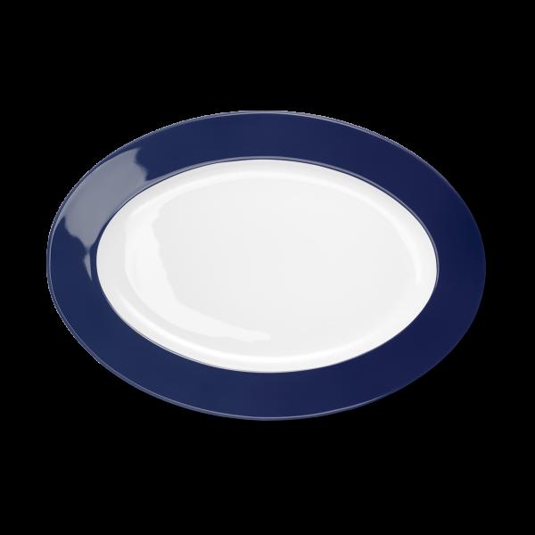 Oval Platter Navy (33cm)