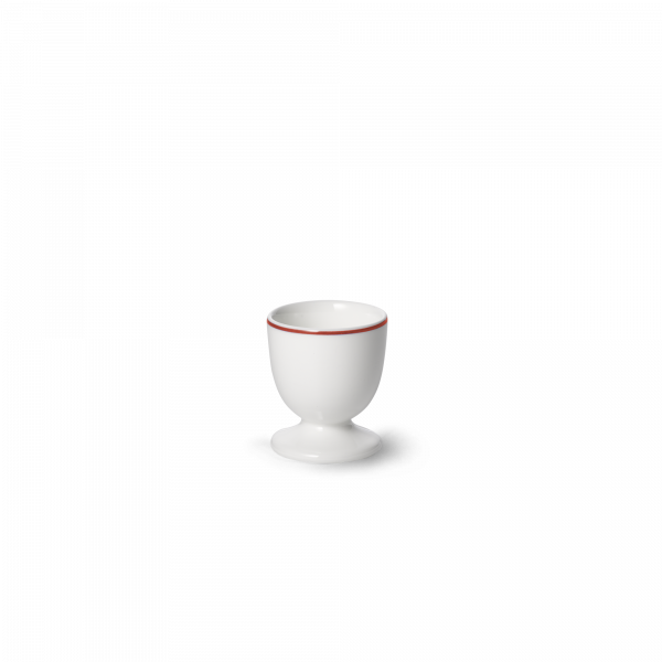 Egg cup tall Red