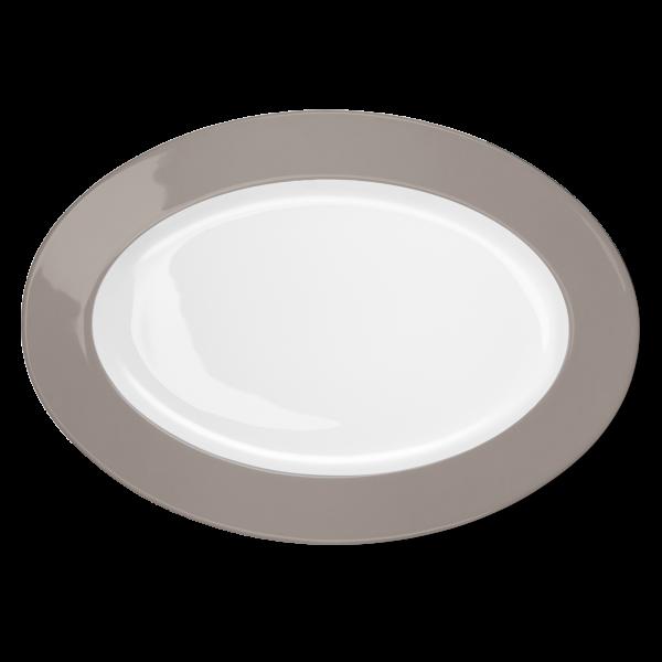 Oval Platter Stone (36cm)