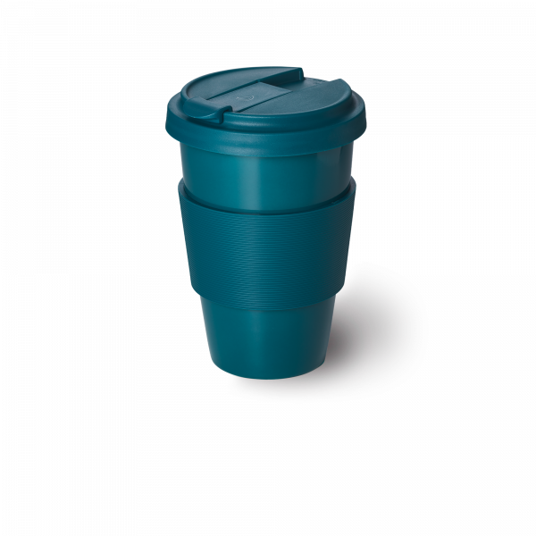 Solid Color Coffee-To-Go Becher Petrol (0,35l)