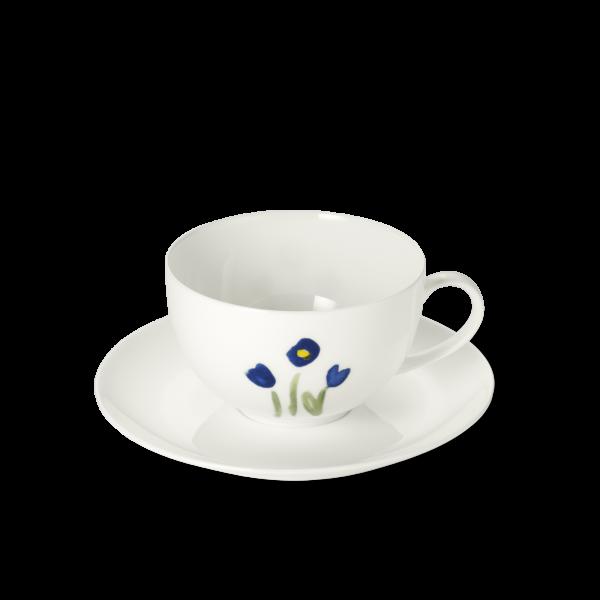 Set Cafe au Lait Tasse Blau (0,32l)