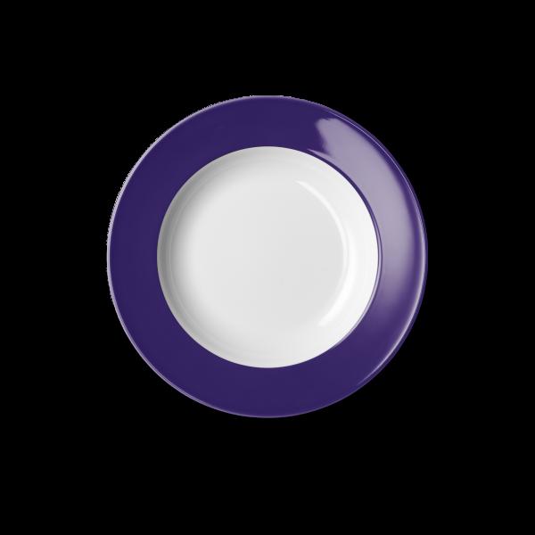Suppenteller Violett (23cm)