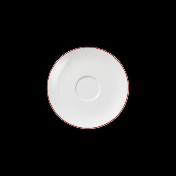 Kaffee Untertasse Rot (16cm)