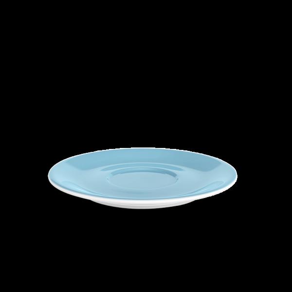 Jumbo Untertasse Hellblau (19,5cm)