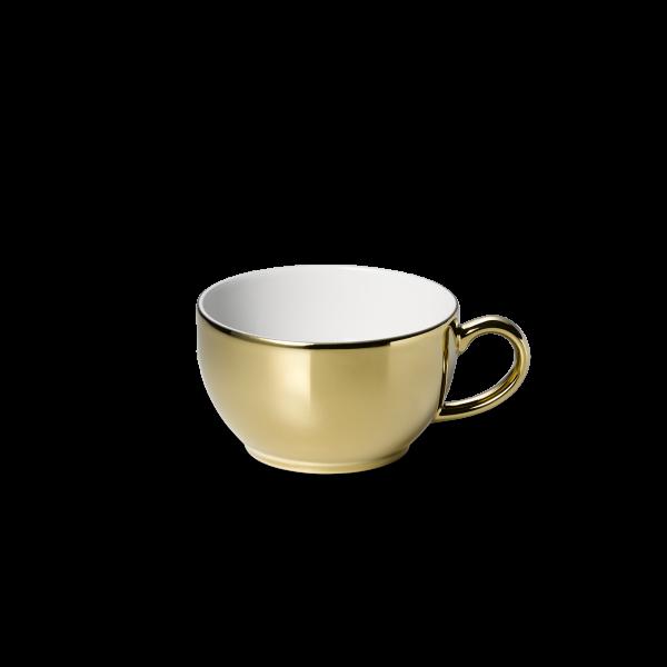 Kaffee/Tee Obertasse Gold (0,25l)