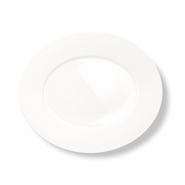 Ovale Platte (Matt) (39cm)