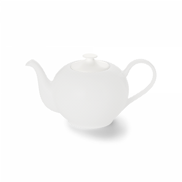 Lid of teapot 0,40 l white