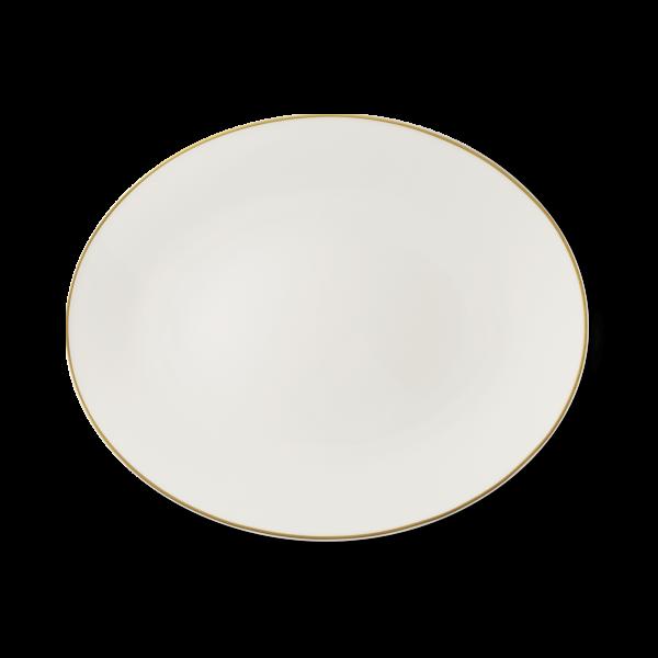 Ovale Platte Gold (39cm)