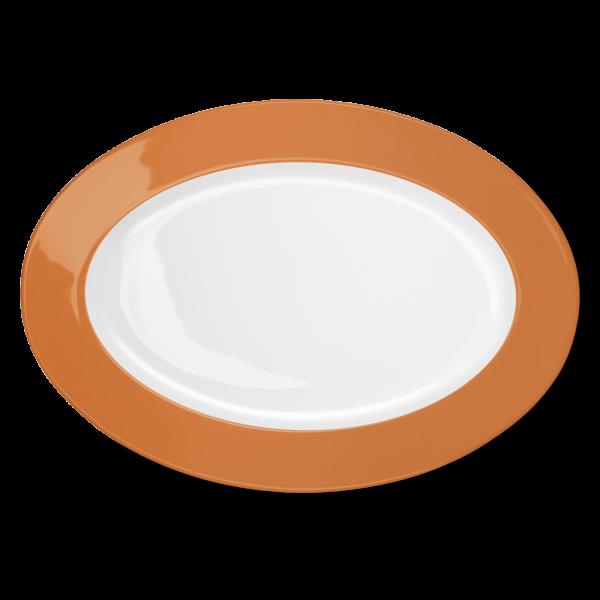Oval Platter Orange (36cm)
