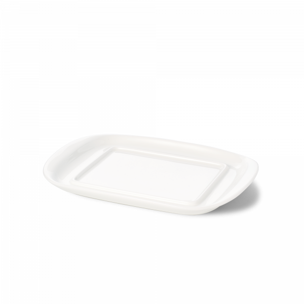 Base of butter dish small white